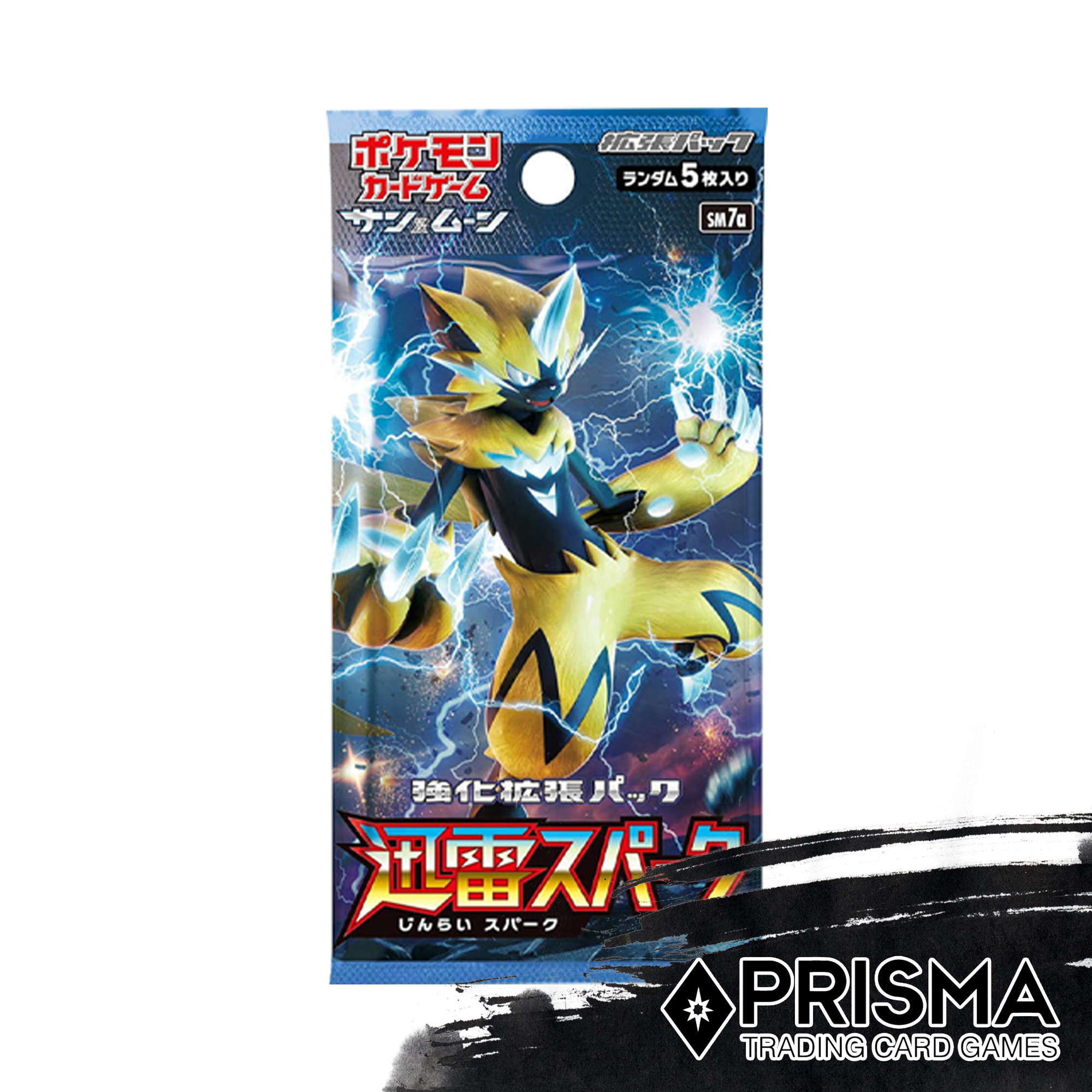 5 Cards Included 1pack Pokemon Card Game TCG Thunderstorm Spark Japanese